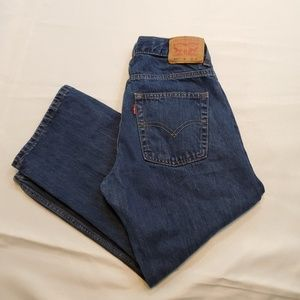 Levi's 550 Relaxed Fit Boys Size 8 Husky
